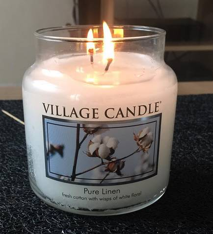 Village-Candle-Pure-Linen-Scented-Candle