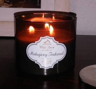 Bath Body Works Mahogany Teakwood Candle Reviews Candle