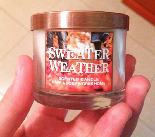 Bath Body Works Sweater Weather Candle Review 2 Candle Frenzy