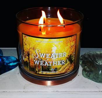 Bath Body Works Sweater Weather Scented Candle 2 Candle Frenzy