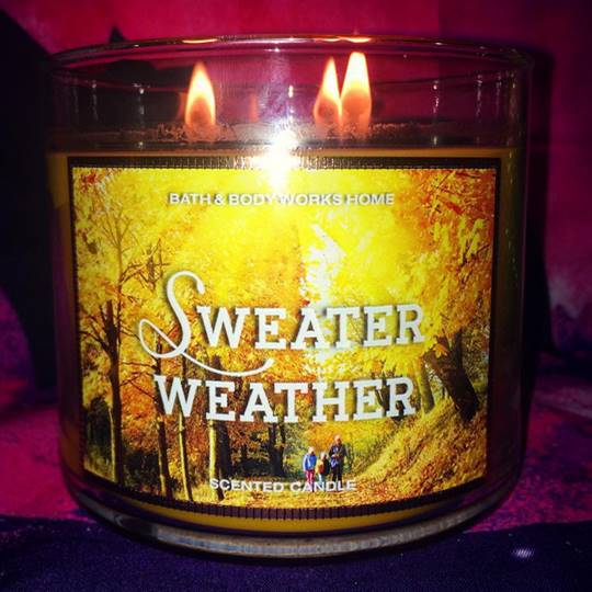 Bath Body Works Sweater Weather Candle Reviews Candle Frenzy