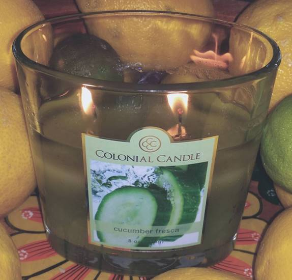 Colonial Candle Of Cape Cod Part - 45: Colonial-Candle-Cucumber-Fresca-Scented-Candle-1