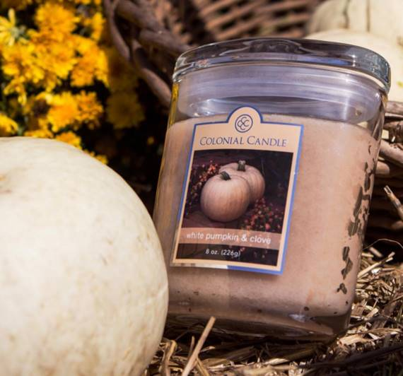 Colonial-Candle-White-Pumpkin-Clove-Scented-Candle-1