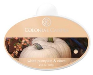 Colonial-Candle-White-Pumpkin-Clove-Wax-Melt-1