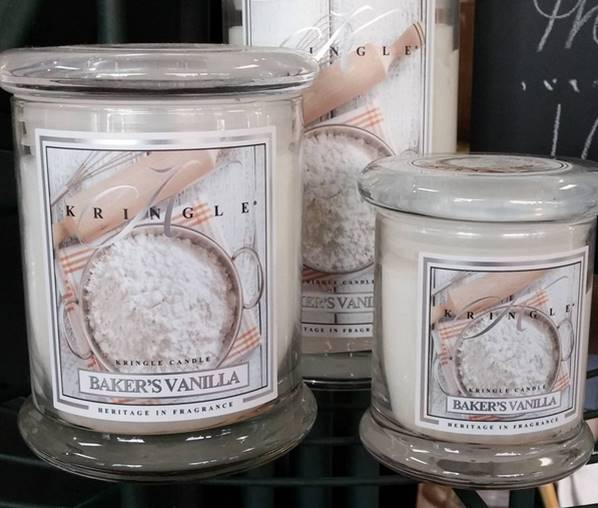 kringle candle baker 39 s vanilla candle candle frenzy. Black Bedroom Furniture Sets. Home Design Ideas