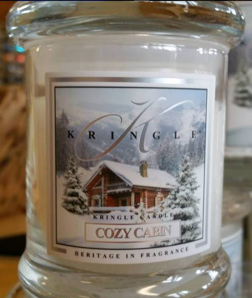 kringle candle cozy cabin candle review candle frenzy. Black Bedroom Furniture Sets. Home Design Ideas