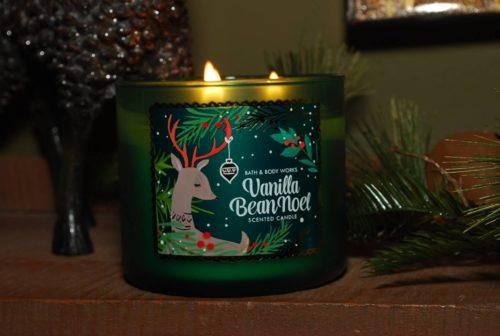 Bath & Body Works Vanilla Bean Noel Candle