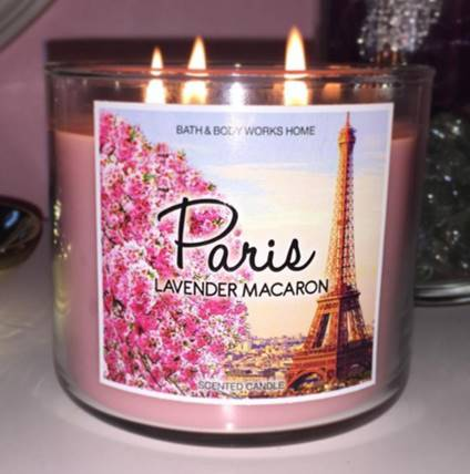 Bath Body Works Lavender Macaron Candle Review Candle Frenzy