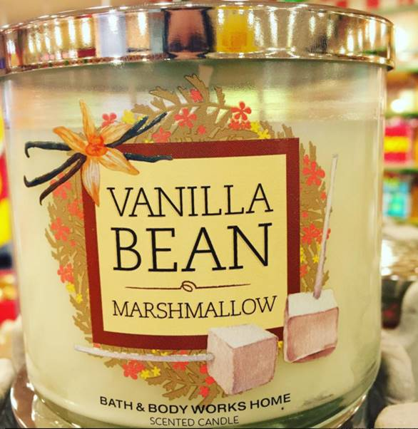 Bath Body Works Vanilla Bean Marshmallow Candle Review