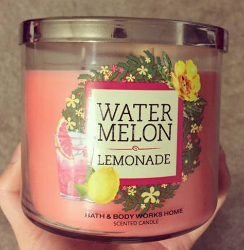 Bath Body Works Watermelon Lemonade Candle Review Candle Frenzy