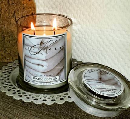 kringle warm cotton candle review candle frenzy. Black Bedroom Furniture Sets. Home Design Ideas