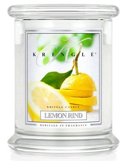 kringle lemon rind candle candle frenzy. Black Bedroom Furniture Sets. Home Design Ideas
