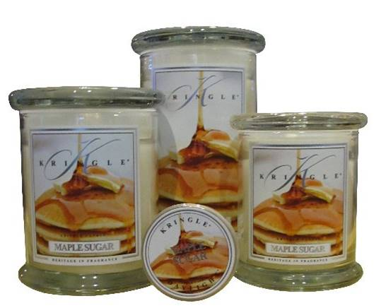 kringle maple sugar candle candle frenzy. Black Bedroom Furniture Sets. Home Design Ideas