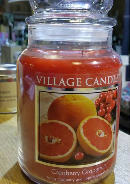 Village-Cranberry-Grapefruit-Scented-Candle-Review-2