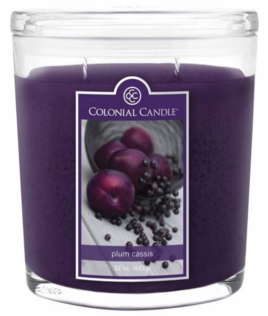 Colonial Candle Of Cape Cod Part - 38: Colonial-Plum-Cassis-Candle-1