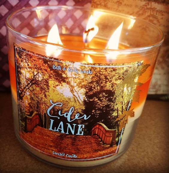 Bath Amp Body Works Cider Lane Candle Review Candle Frenzy