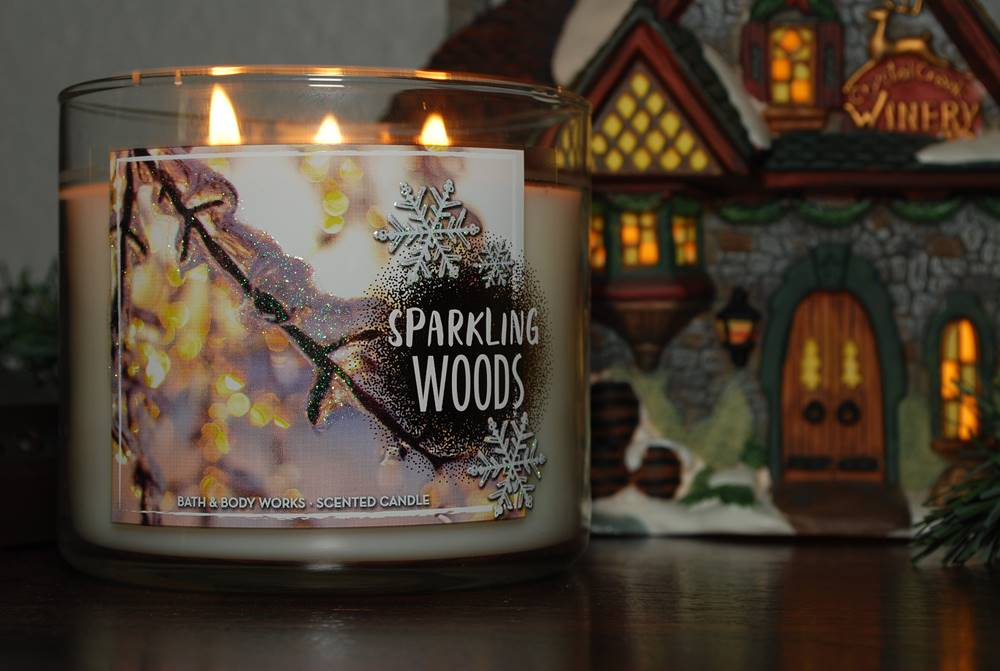 Bath Amp Body Works Sparkling Woods Candle Reviews Candle