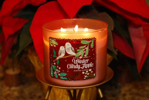 Bath Amp Body Works Winter Candy Apple Candle Reviews