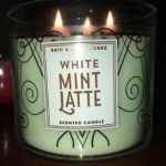 White-Mint-Latte-Scented-Candle-Review