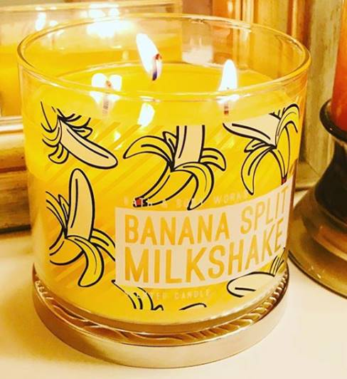 Bath Amp Body Works Banana Split Milkshake Candle Review