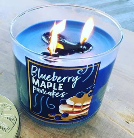 Bath Body Works Blueberry Maple Pancakes Candle Review Candle Frenzy